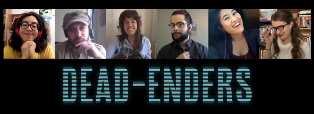 Dead-Enders, web series, TV, comedy, horror, zombie apocalypse, dark humor, iNDEEvent, Geek Insider, CRYPT WEEK